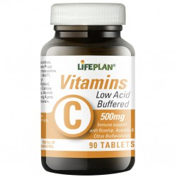 Vitamin C (Buffered) 500mg 90 tabs