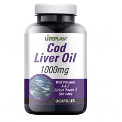 Cod Liver Oil 1000mg 90 caps