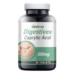 Caprylic Acid 90 Tablets