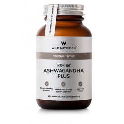 Food-Grown® KSM-66 Ashwagandha Plus