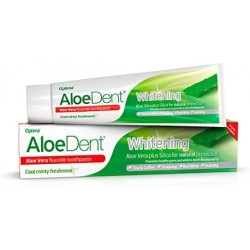 ALOEDENT WHITENING TOOTHPASTE WITH FLUORIDE