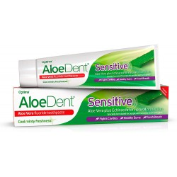 ALOEDENT SENSITIVE TOOTHPASTE WITH FLUORIDE