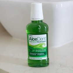 ALOEDENT ALOE VERA MOUTHWASH WITH FLUORIDE